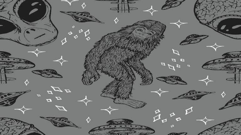 Ovnis y Bigfoot;Evidencia de una conexión interdimensional
