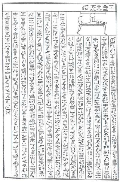Texto del Libro de los Muertos