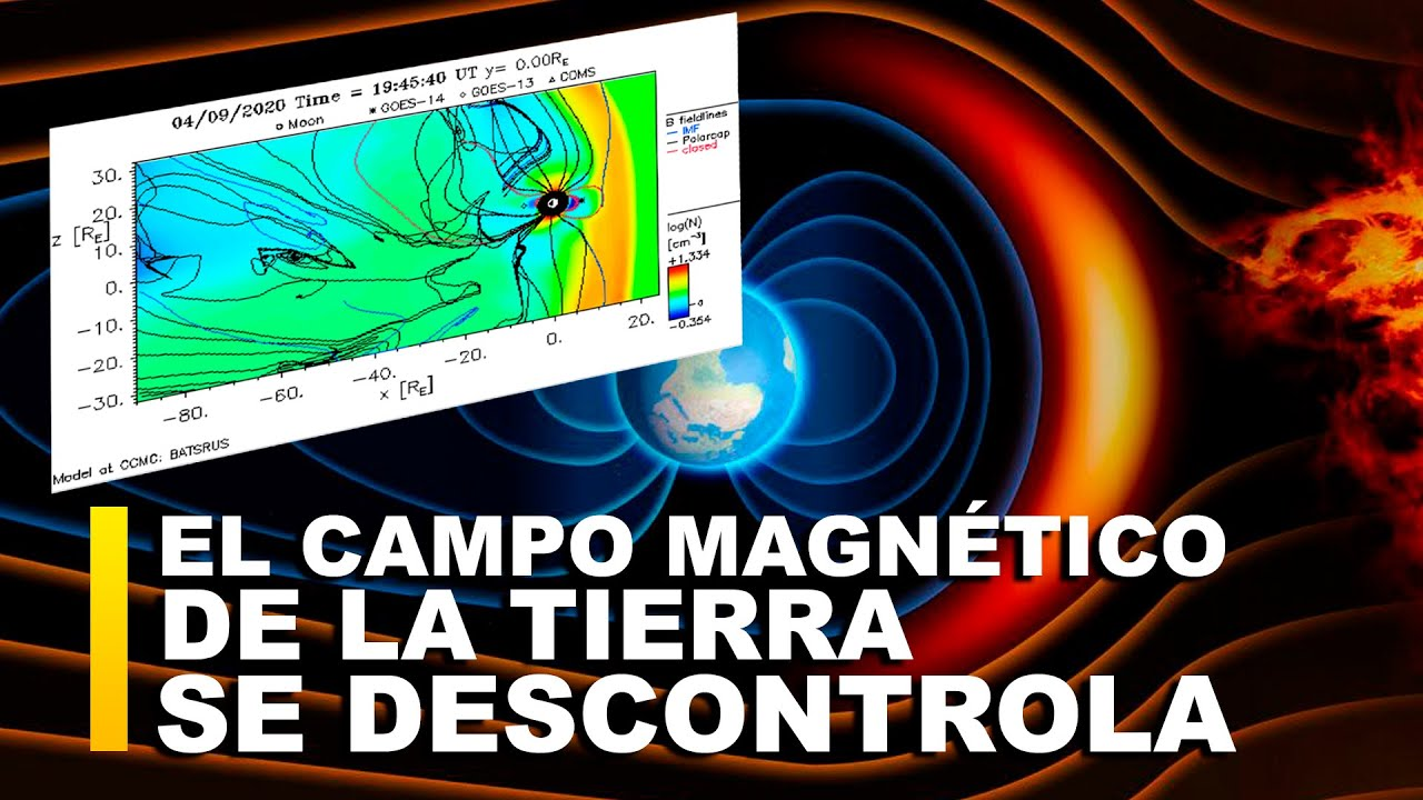 EL CAMPO MAGNÉTICO DE LA TIERRA SE HA DESCONTROLADO