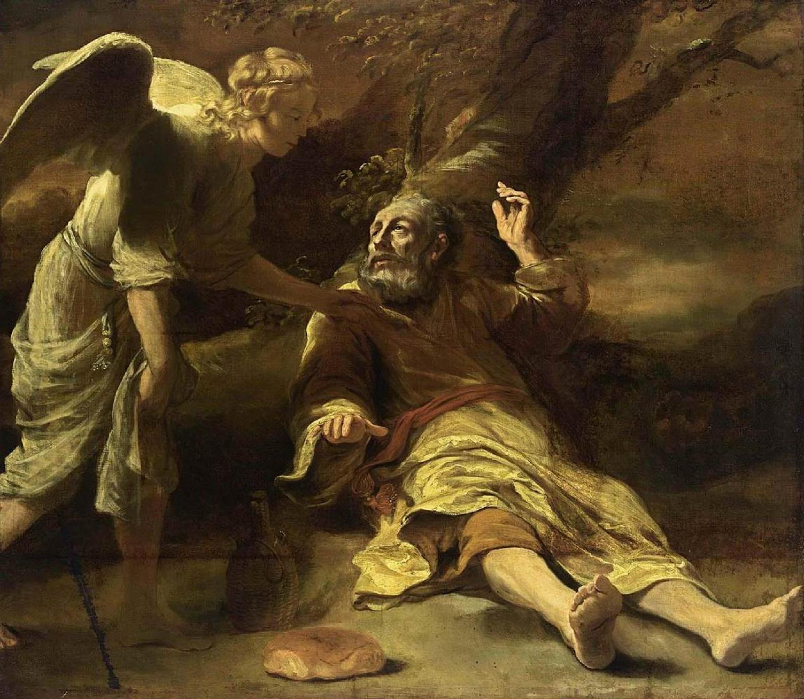 El Profeta Elías y su presunta abducción por un OVNI antiguo