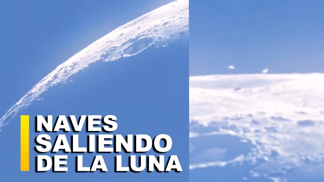ENORMES NAVES SALEN DE LA LUNA