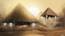 ¿Extraterrestres coexistiendo con humanos en el antiguo Egipto?