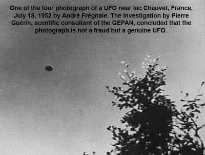 PLANET UFO: Lac Chauvet UFO Photos