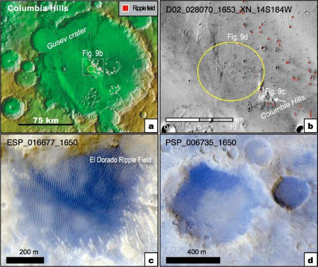 La vida floreció en Marte en el pasado