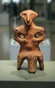 Las estatuillas de la cultura Vinča y su misterioso comparable con los Grises.