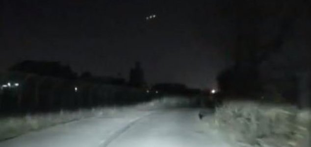 Luces misteriosas aparecen y luego desaparecen en un nuevo video