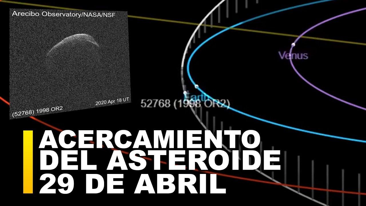 MIRA: El acercamiento Máximo del Asteroide 1998OR a la Tierra