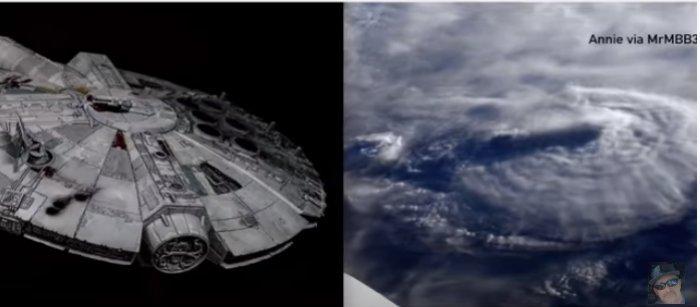 Se ve una gran anomalía sobre la Tierra: ¿cuál sería?