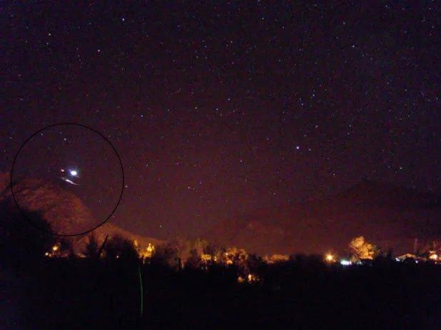 Avistamiento De OVNIs En Atacama, Chile