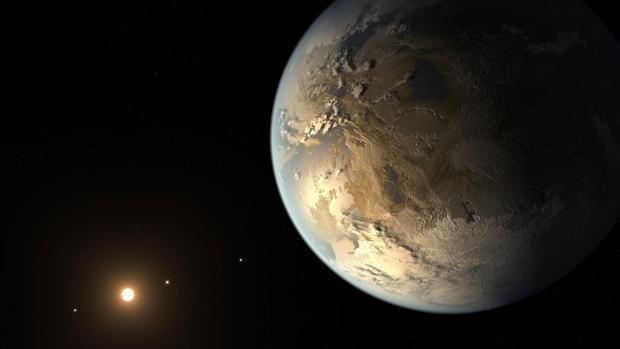 Hallan un monstruoso planeta con una superficie 150 veces mayor que la Tierra