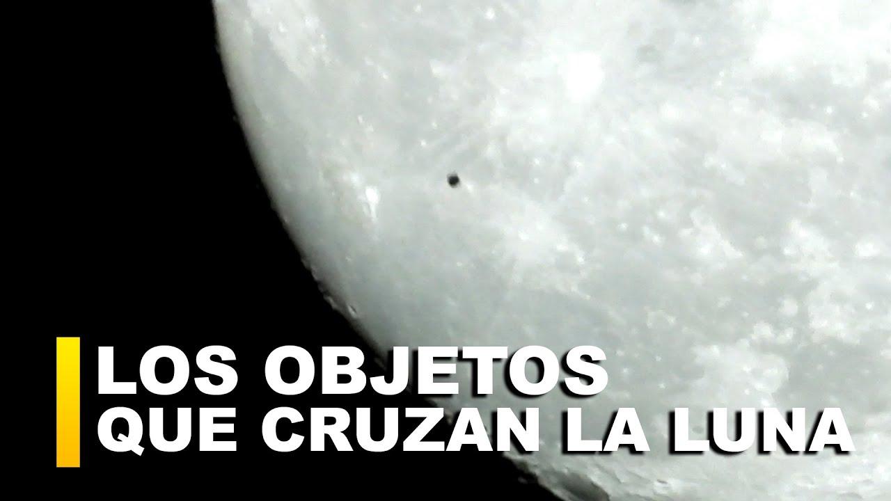 Acaba de cruzar la Luna un OBJETO circular ¿QUÉ SON?