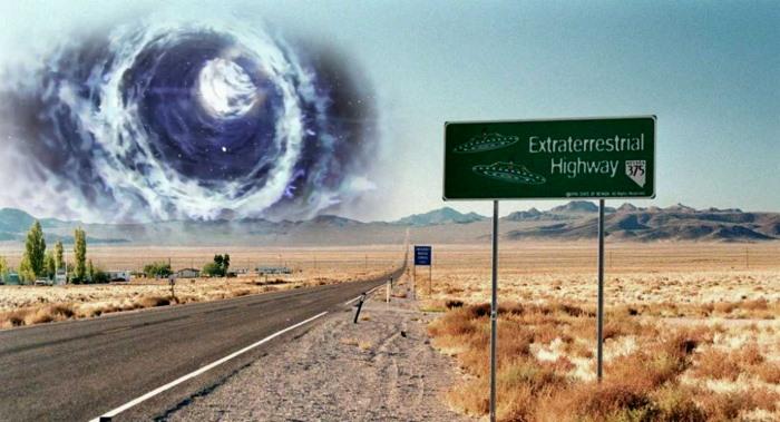 """ÁREA 51, una """"Anomalía Gravitacional"""" registrada al norte de Las Vegas. ¡Se sospecha la presencia de un STARGATE!"""