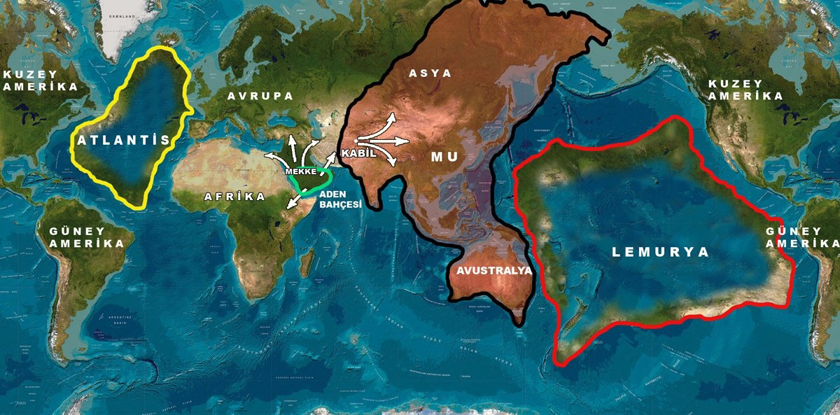 Atlántida vs. Lemuria: cronica oculta de una guerra de hace más de 10.000 años