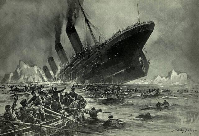Después de un siglo: ¿se siguen recibiendo señales «SOS» del Titanic? ¿es una anomalía en el tiempo?