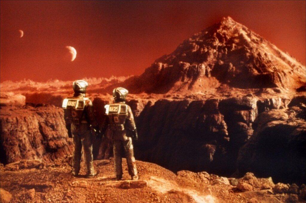 ¿Dónde puede vivir la gente en Marte?