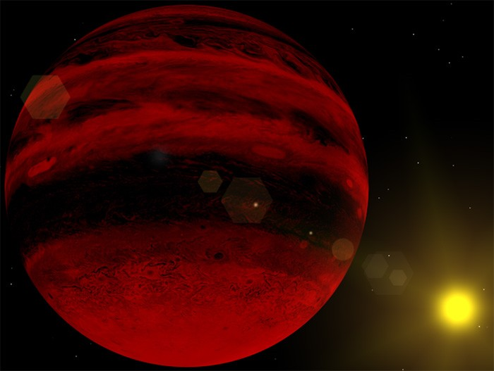 Ilustración del Planeta X