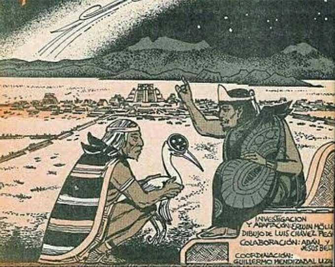 El sacerdote azteca que predijo la tragedia de la Conquista española