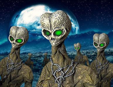Encuentro cercano con extraterrestres «muertos» y petrificados.