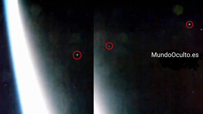 Estación Espacial captura una «Evacuación Intensa de OVNIs» desde la Tierra