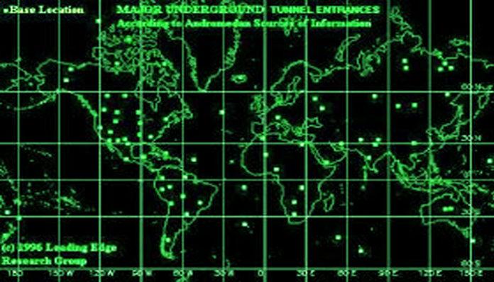 ¿Hay más de 1,400 bases alienígenas subterráneas en la Tierra?