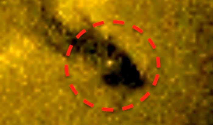 Imágenes de la NASA muestran un supuesto portal estelar en el Sol