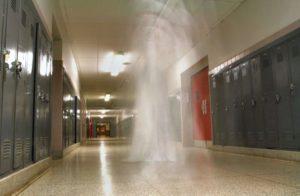 Fantasma de la escuela