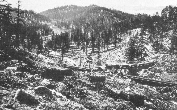 Matadero Canyon, 1877