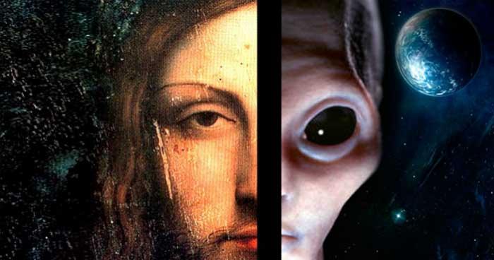 No es una estrella de Belén, es un platillo volador ¿fue Jesucristo realmente un extraterrestre?