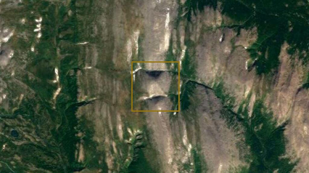 Se descubrió una pirámide gigante en los montes Urales