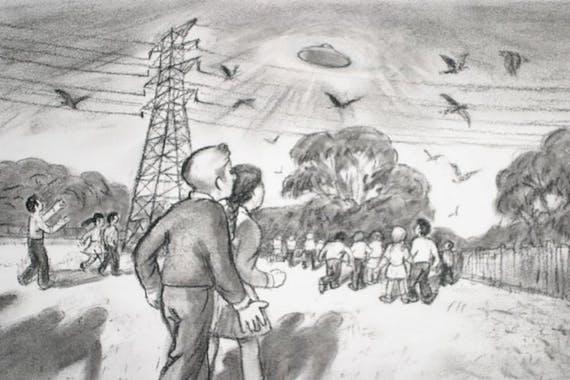 Un avistamiento masivo de ovnis en una escuela secundaria australiana
