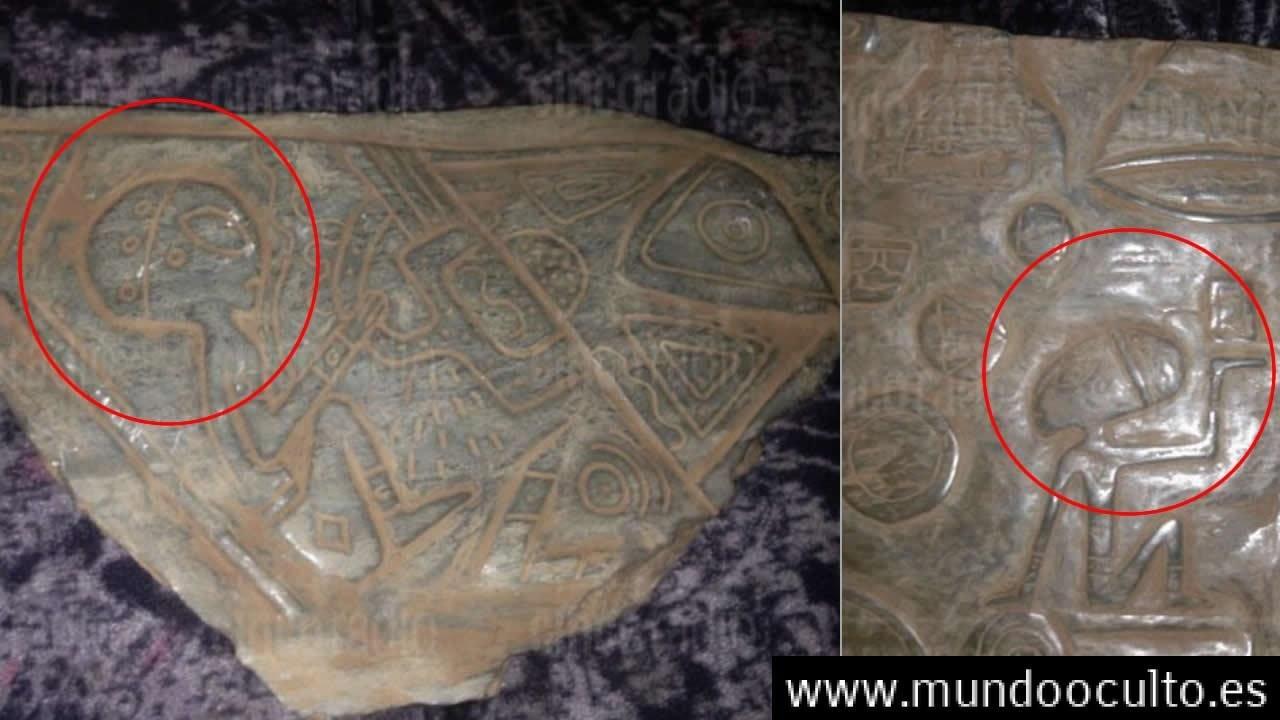 Descubren en Puebla, México, Piedras de Jade con grabados «extraterrestres»