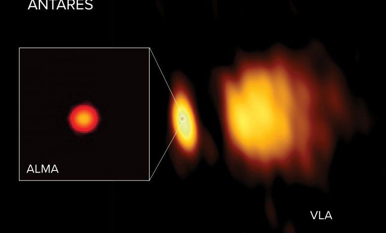 Antares, una de las estrellas más brillantes del cielo nocturno es mucho más grande de lo que se pensaba anteriormente
