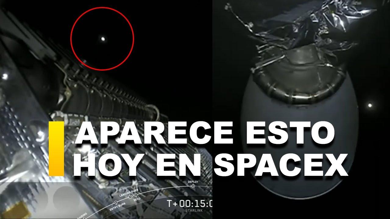 APARECE ESTE OBJETO EN EL LANZAMIENTO DE «HOY» DE SPACEX
