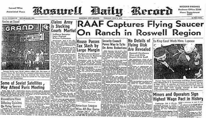 Donald Trump habla sobre Roswell: ¿factible desclasificación OVNI?.