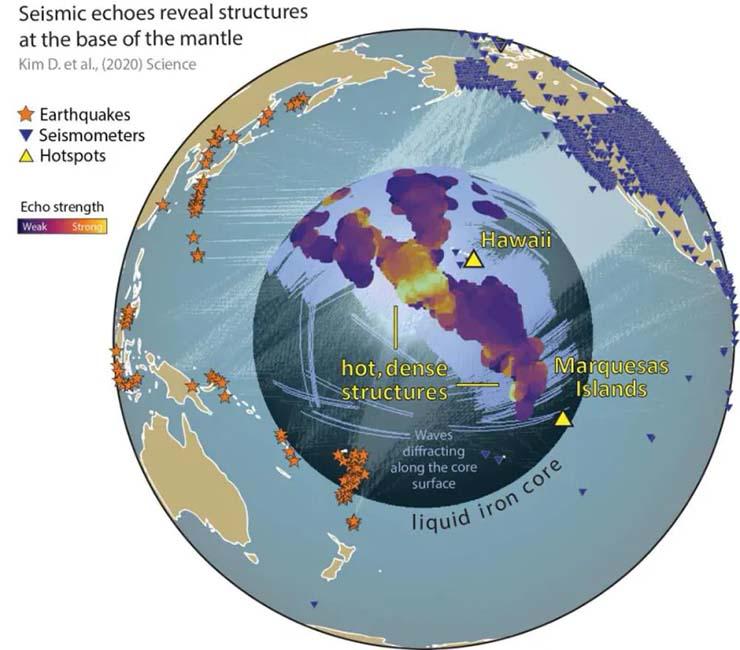 ¿Evidencias de la Atlántida? Científicos descubren enormes estructuras no identificadas en el interior de la Tierra