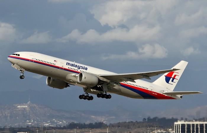 El avión del vuelo de Malasia