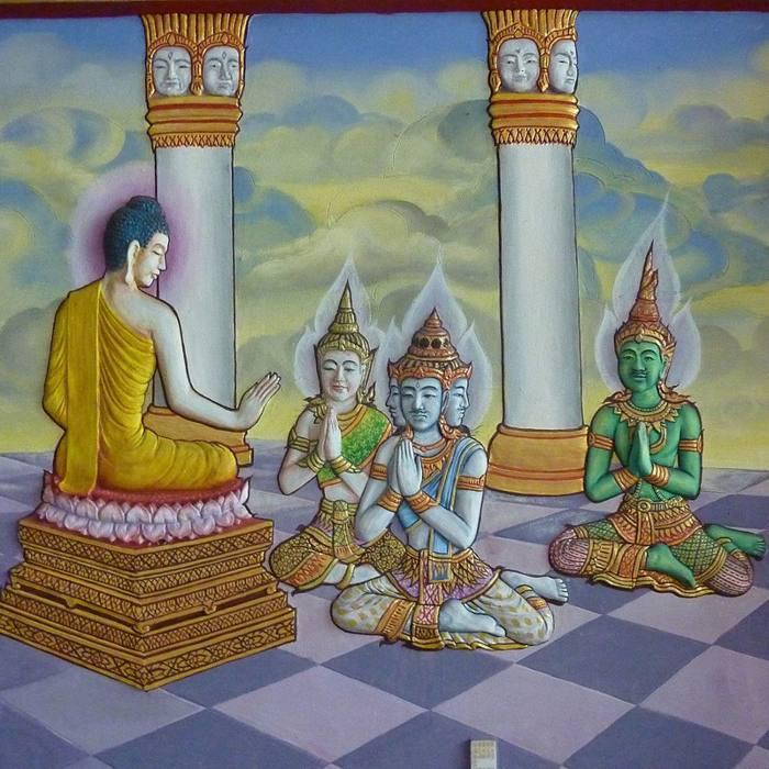 La deidad Vishnú y las encarnaciones con las que vino a la Tierra