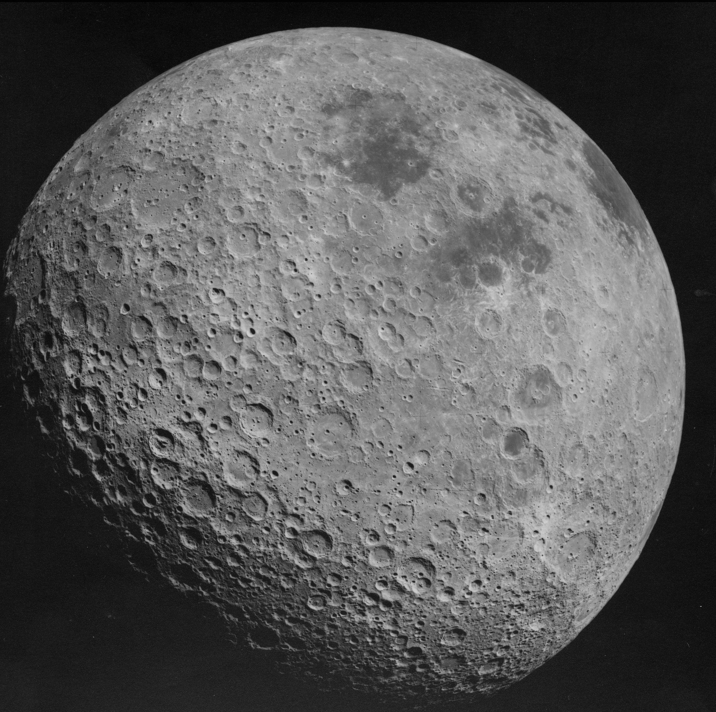 Por qué no vemos la cara oculta de la Luna?