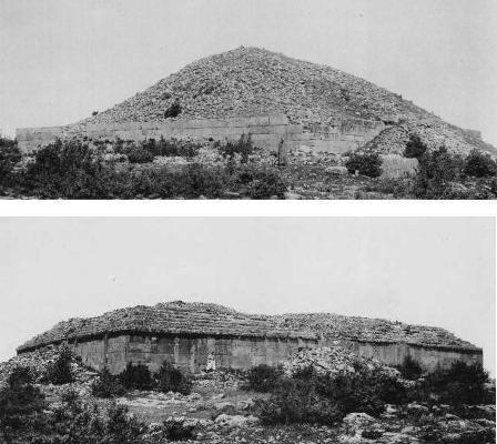 Dos de los djeddars de Jabal Lakhdar (Argelia)
