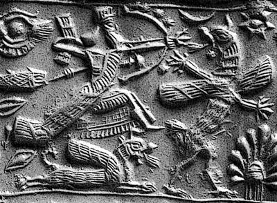 Marduk contra Tiamat Anunnakis