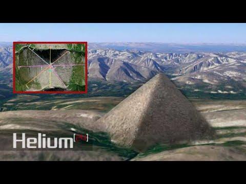 Pirámide gigante es descubierta en los Montes Urales