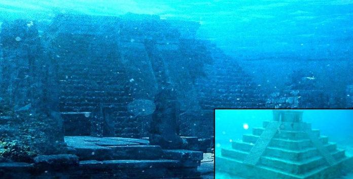 ¿Se construyó esta pirámide submarina en China anteriormente del Diluvio Universal?.