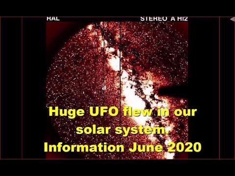 Se filma un objeto enorme que viaja a través de nuestro sistema solar