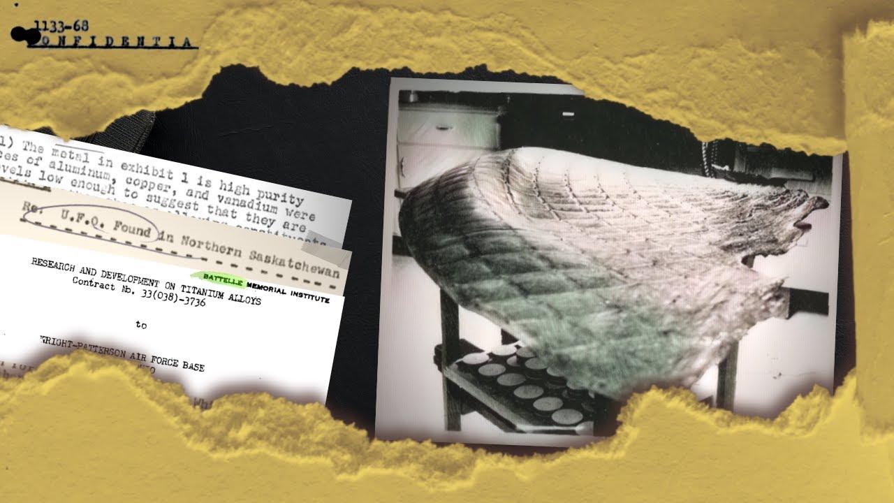 Documentos raros revelan secretos de recuperaciones de ovnis estrellados