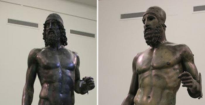 Enigmáticas estatuas gigantes encontradas en las profundidades del Mediterráneo