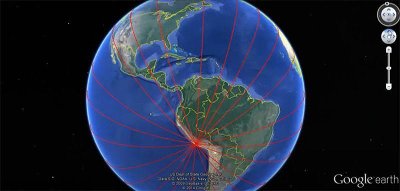 Esto es lo que sucede cuando las Líneas de Nasca se trazan en todo el mundo