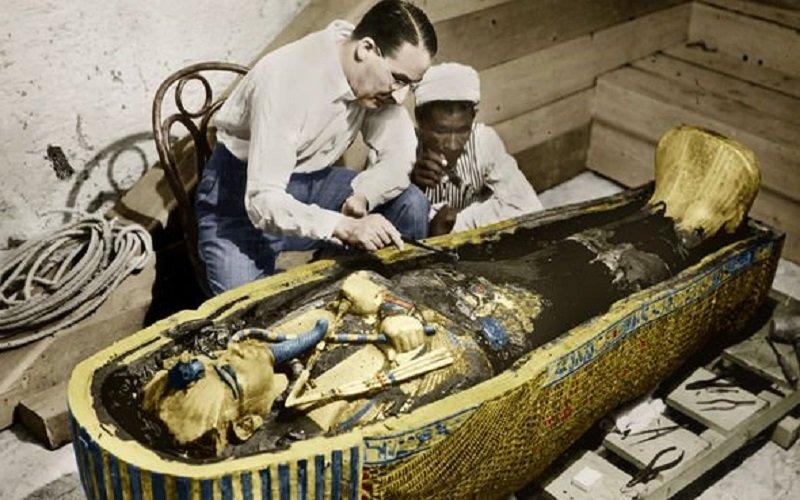 La maldición de los faraones de Egipto resulta