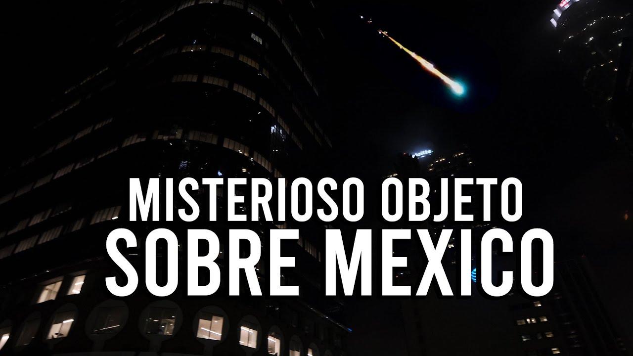 ¿Qué sobrevoló los cielos de México?