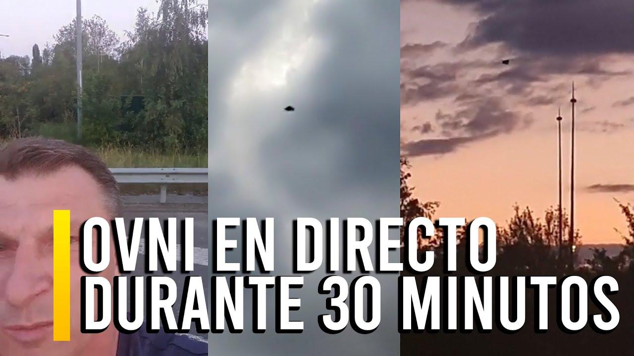 RETRANSMITEN OVNI EN FRANCIA DURANTE 30 MINUTOS