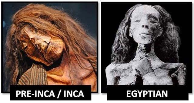 Asombrosas similitudes ¿o conexiones? entre las culturas Inca y Egipcia